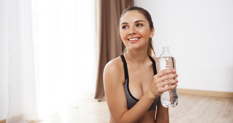read here how can drinking water help lose belly fat