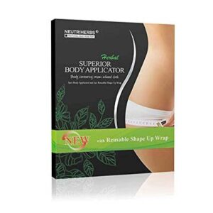 neutriherbs 45 min ultimate body wraps weight loss applicator